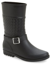 dav Women's Weston Waterproof Woven Shaft Rain Boot