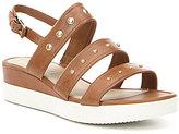 Ecco Touch Strap Plateau Sandals