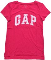 Gap Womens Arch Logo Crew Neck Graphic T-Shirt (XS, )