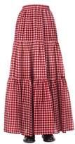 Jucca Women's Red Cotton Skirt.