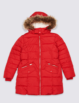 Marks and Spencer Longline Padded Coat With StormwearTM (3-16 Years)