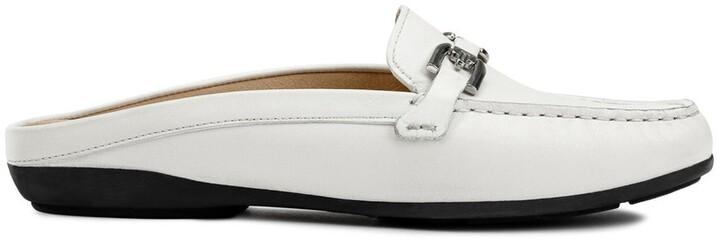 D vega moc leather loafers , blue, Geox | La Redoute