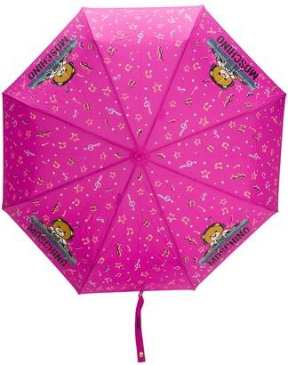 Moschino DJ bear umbrella