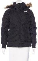 The North Face Faux Fur-Accented Puffer Jacket