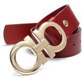 Salvatore Ferragamo Adjustable Rubino Leather Belt