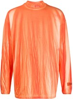 Heron Preston long sleeve turtle neck sweater