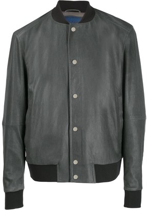 Drome Leather Bomber Jacket