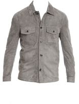 Tom Ford Grey Suede Jacket