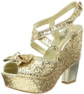 Seychelles Women's Late Night Glitter Wedge Sandal