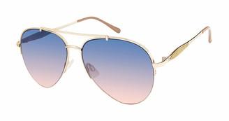 Nanette Nanette Lepore Nanette by Nanette Lepore Women's NN302 UV Protective Aviator Sunglasses