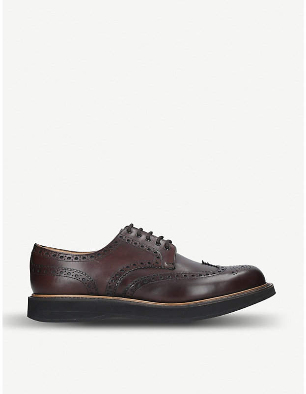 Church's Tewin wedge calf leather derby shoes