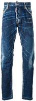 DSQUARED2 Mac Daddy whisker effect jeans - men - Cotton/Spandex/Elastane - 42