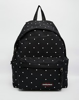 Eastpak Polkadot Padded Pak'r Backpack - Black