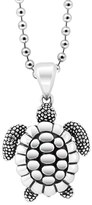 Lagos Women's 'Rare Wonders - Turtle' Long Talisman Necklace