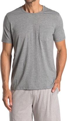 Daniel Buchler Crew Neck Pocket T-Shirt