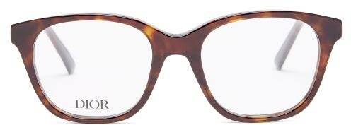 Thumbnail for your product : Christian Dior 30montaigne Square Tortoiseshell-acetate Glasses - Tortoiseshell