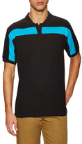 Fred Perry Towelling Detail Tennis Polo