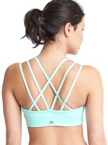Gap Medium impact strappy sports bra