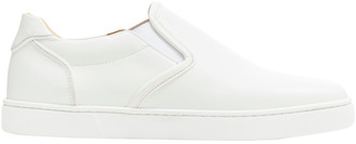 Christian Louboutin White Leather Trainers
