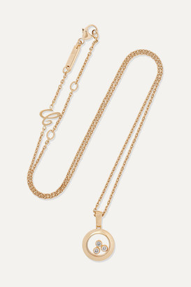 Chopard Net Sustain Happy Diamonds 18-karat Gold Diamond Necklace