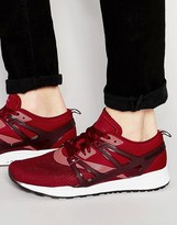 Reebok Ventilator Adapt Trainers In Red V69085