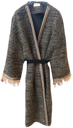 Vicolo Metallic Tweed Coats