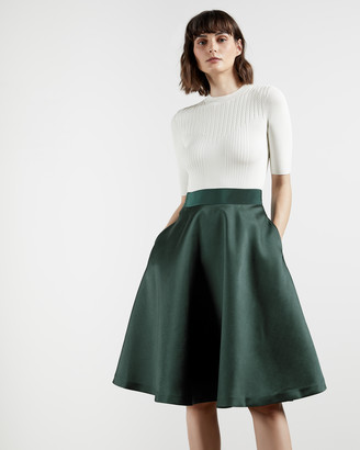 Ted Baker BETSIYY Full skirt mockable dress