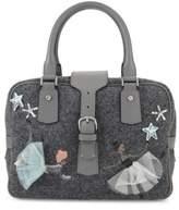 RED Valentino Wool Top-Handle Handbag