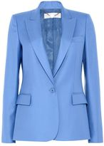 Stella McCartney steel blue ingrid jacket