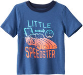 "Jumping Beans Baby Boy Jumping Beans® ""Little Speedster"" Car Graphic Tee"