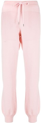 Barrie Drawstring Cashmere Joggers