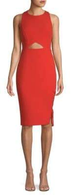 BCBGMAXAZRIA Cut-Out Sheath Dress