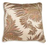 Etro Ely Leaves Pattern Squared Cushion