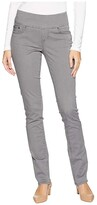 Jag Jeans Peri Pull-On Straight Leg Pants in Bay Twill (Black) Women's Casual Pants
