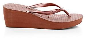 Havaianas Women's High Fashion Wedge Flip Flops