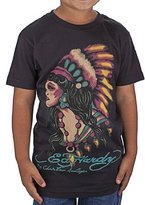 Ed Hardy Big Girls' Indian T-Shirt