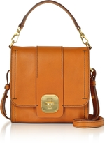 The Bridge Genuine Leather Top Handle Crossbody Bag