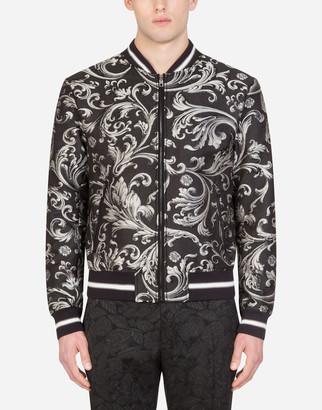 Dolce & Gabbana Jacquard Jacket