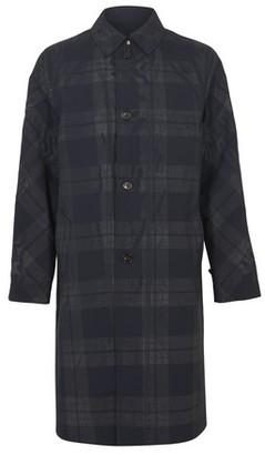 Marni Check long coat