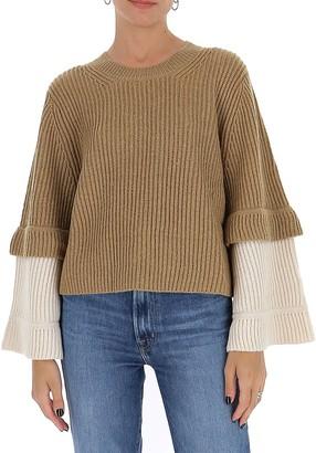 See by Chloe Wide Sleeve Sweater