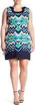 Taylor Printed Bop Sack Dress (Plus Size)