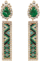 Shourouk Bastet clip-on earrings