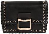 Roger Vivier Micro Viv Leather Shoulder Bag