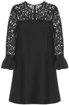 Valentino Lace wool and silk dress