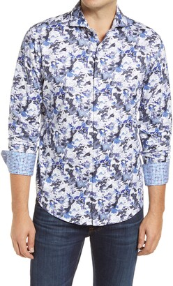 Robert Graham Medival Times Classic Fit Patterned Button-Up Shirt