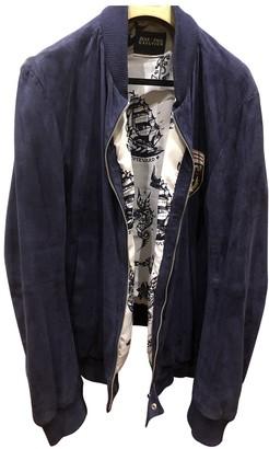 Jean Paul Gaultier Navy Suede Jackets