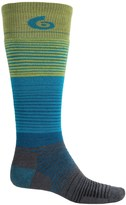 Point 6 Point6 1448 Midweight Ski Socks - Merino Wool, Over the Calf (For Men and Women)