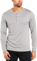 Theory Anemone Snap Henley Shirt