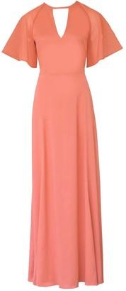 Anna Etter Maxi Coral Dress Thea