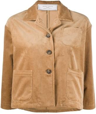 Societe Anonyme Cropped Corduroy Jacket